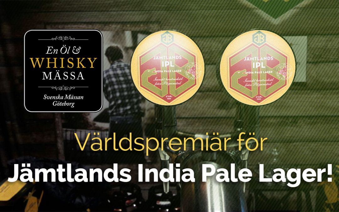Världspremiär för Jämtlands IPL 6-7 april!