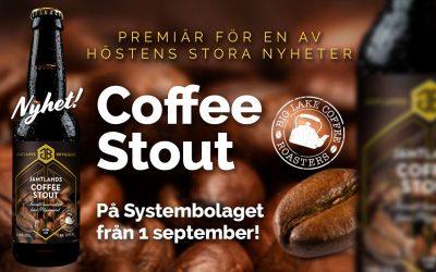 Premiär för Jämtlands Coffee Stout!
